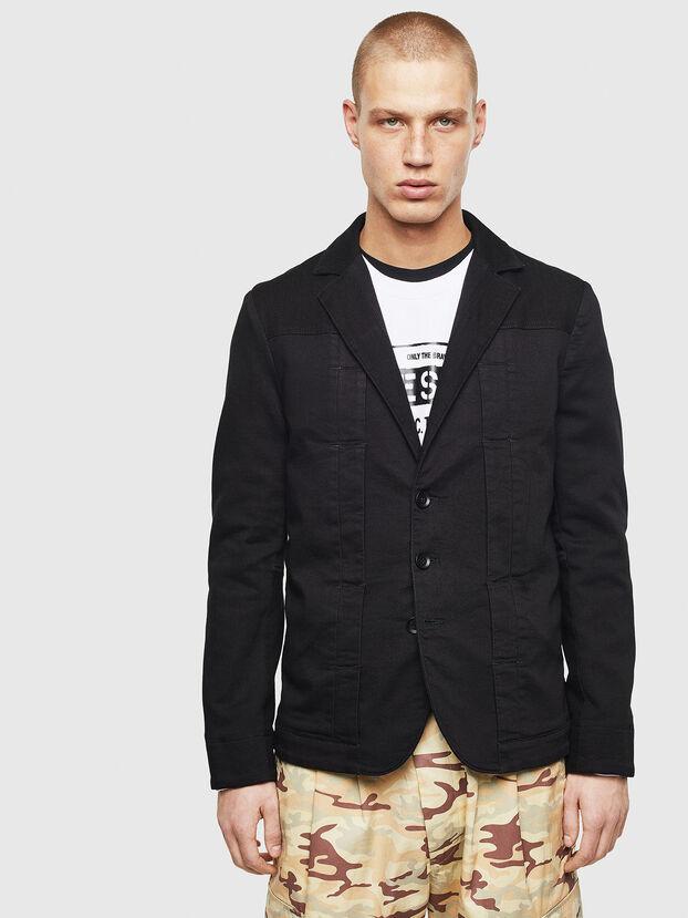 D-NYACK JOGGJEANS, Black - Denim Jackets