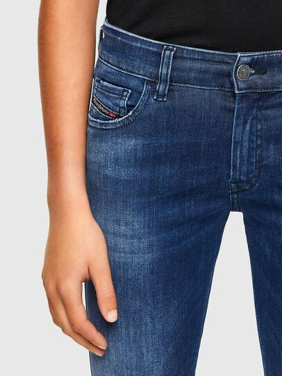 Diesel - Slandy Low 009FE, Dark Blue - Jeans - Image 3