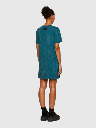 Diesel - D-ARY-E1, Water Green - Dresses - Image 6