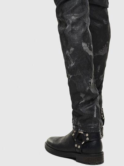 Diesel - Thommer JoggJeans 084AI, Black/Dark grey - Jeans - Image 5