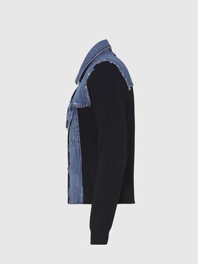 Diesel - M-ROSE, Blue/Black - Jackets - Image 3