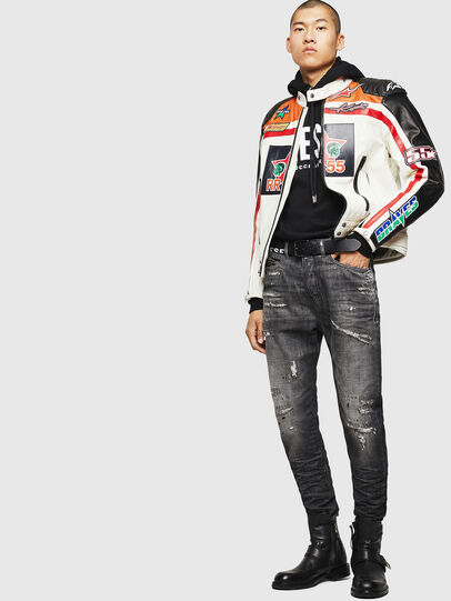 Diesel - ASTARS-LPATCH-1A,  - Leather jackets - Image 8
