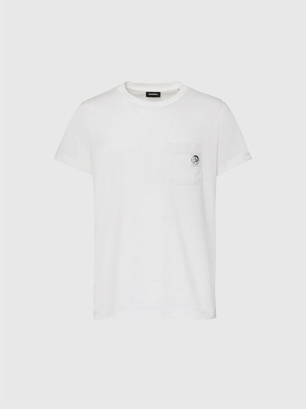T-WORKY-MOHI, White - T-Shirts