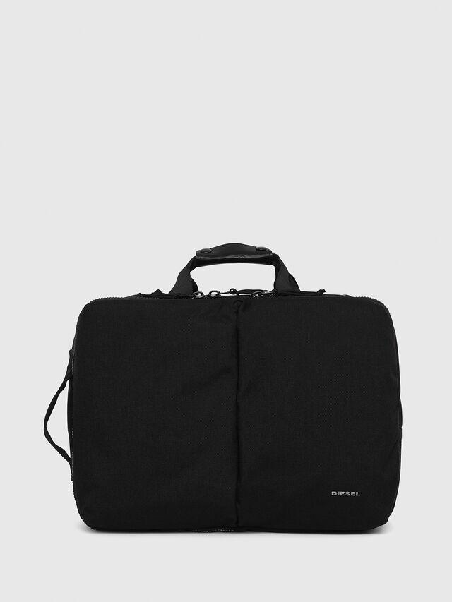 Diesel - F-URBHANITY BRIEFCAS, Black - Briefcases - Image 1