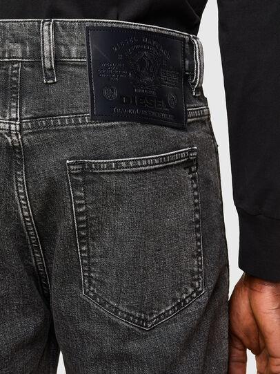 Diesel - D-Vider 009QZ, Black/Dark grey - Jeans - Image 4