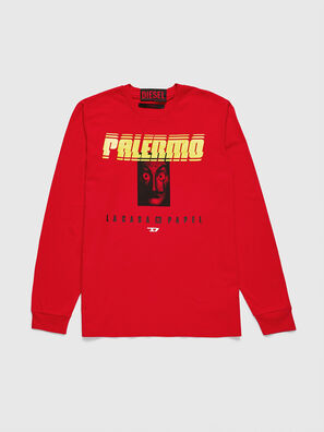 LCP-T-JUST-LS-PALERM, Red - T-Shirts