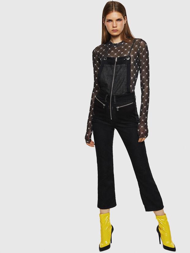 D-FLORY JOGGJEANS, Black - Jumpsuits