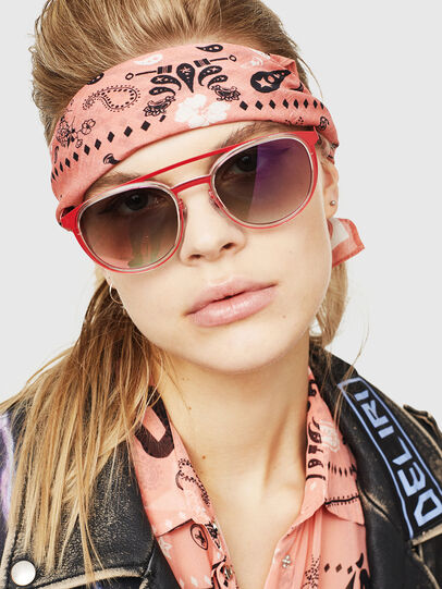 Diesel - DL0293, Red/White - Sunglasses - Image 5