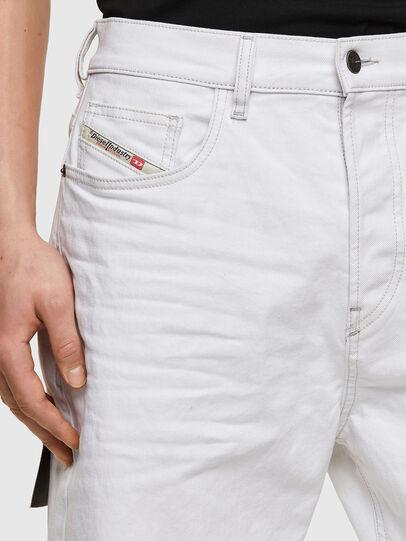 Diesel - D-Vider 003AF, White - Jeans - Image 3
