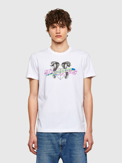 Diesel - T-DIEGOS-E35, White - T-Shirts - Image 1
