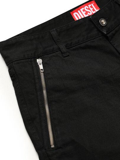 Diesel - GR02-P303, Black - Shorts - Image 4
