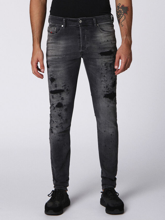 TEPPHAR 084NH, Black Jeans