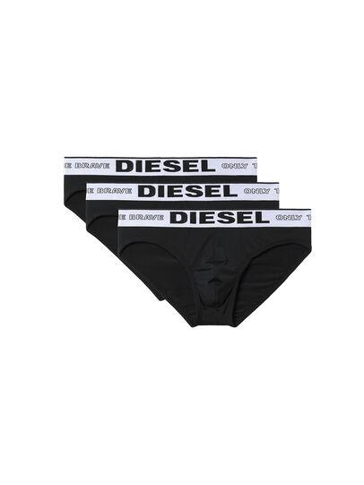 Diesel - 55-DBRIEF-THREEPACK, Black - Briefs - Image 4