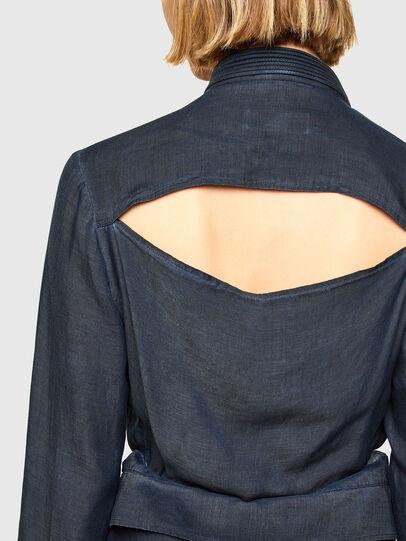 Diesel - DERHONDA, Dark Blue - Dresses - Image 4