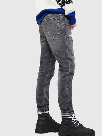 Diesel - D-Eetar 0890F, Light Grey - Jeans - Image 4