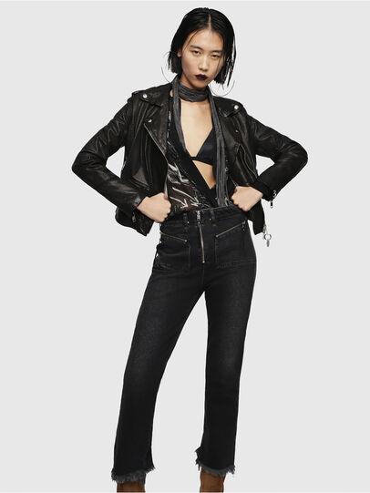 Diesel - L-SERY,  - Leather jackets - Image 5