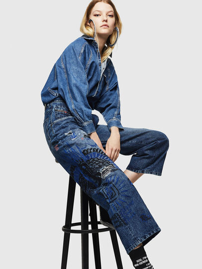 Diesel - Widee 0092Z, Medium blue - Jeans - Image 4
