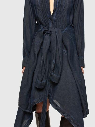 Diesel - DERHONDA, Dark Blue - Dresses - Image 5
