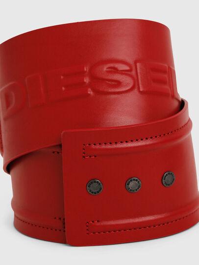 Diesel - B-INO, Fire Red - Belts - Image 2