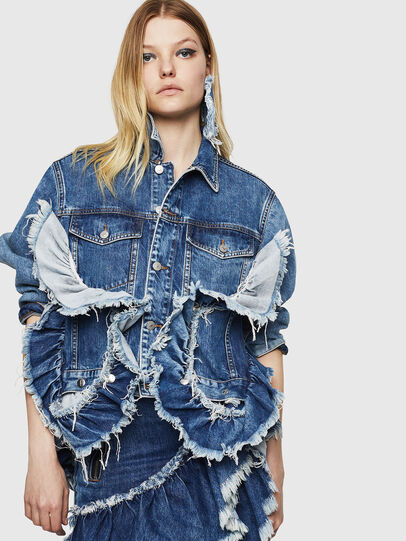Diesel - DE-ABBY,  - Denim Jackets - Image 6