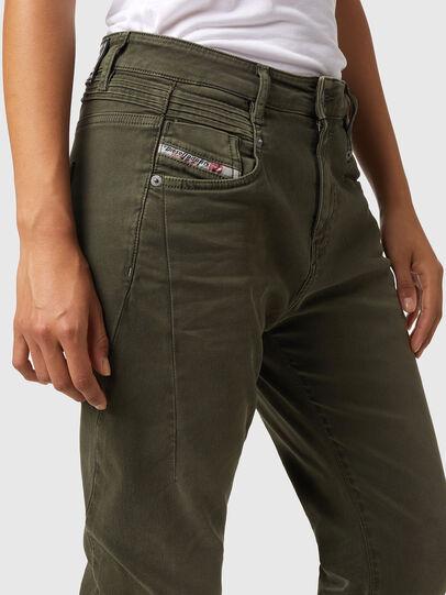 Diesel - Fayza JoggJeans® Z670M, Military Green - Jeans - Image 3