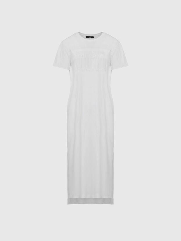 D-FELIX-LONG-E1, White - Dresses