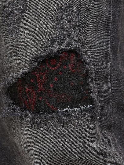 Diesel - Sleenker 009JN, Black/Dark grey - Jeans - Image 7
