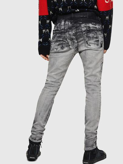 Diesel - D-Reeft JoggJeans 084AH, Black/Dark grey - Jeans - Image 2