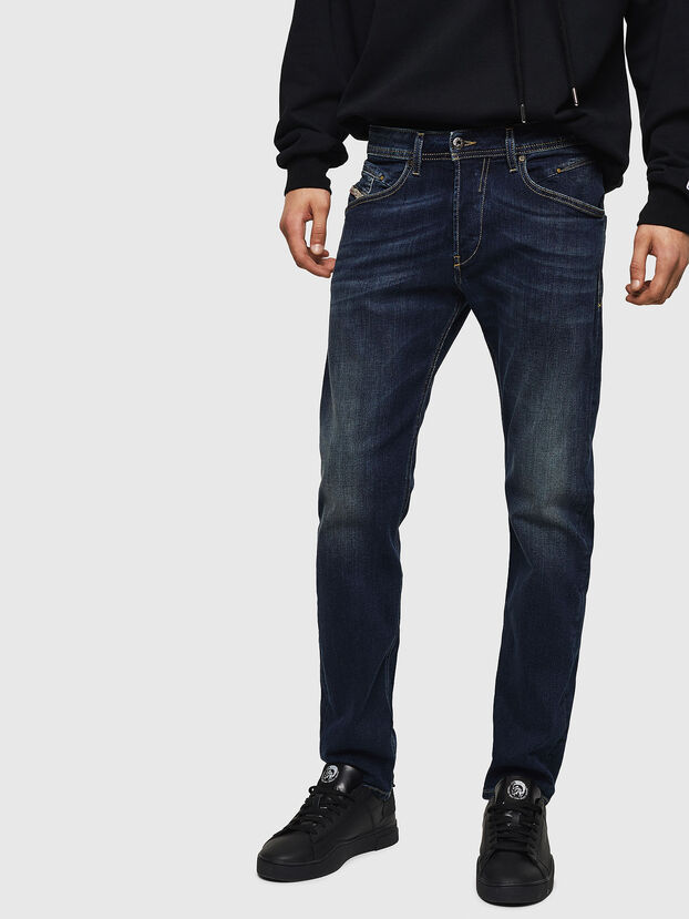Belther 0814W, Dark Blue - Jeans