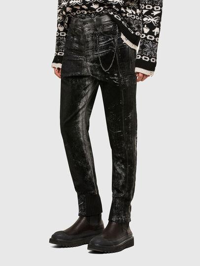 Diesel - TYPE-2022-NE, Black/Dark grey - Jeans - Image 3
