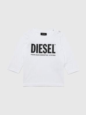 TJUSTLOGOB ML, White - T-shirts and Tops