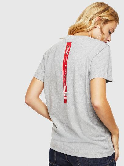 Diesel - CC-T-DIEGO-COLA, Grey - T-Shirts - Image 4