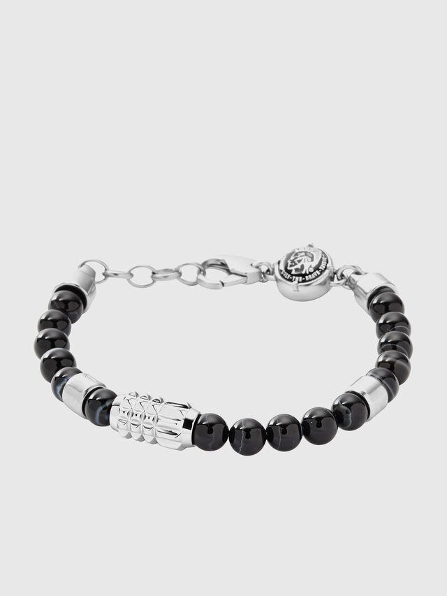 Diesel - BRACELET DX0847, Black/Grey - Bracelets - Image 1