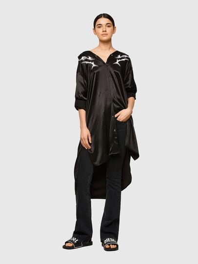 Diesel - D-NIA-A, Black - Dresses - Image 5