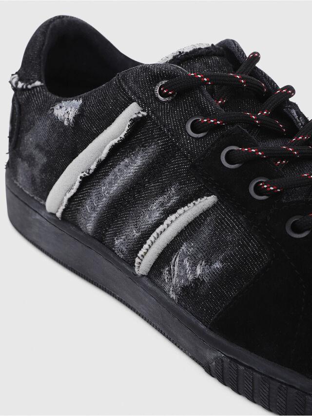 Diesel - S-MILLENIUM LC, Black - Sneakers - Image 4