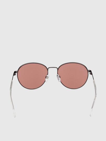 Diesel - DL0355, Black/Red - Sunglasses - Image 4