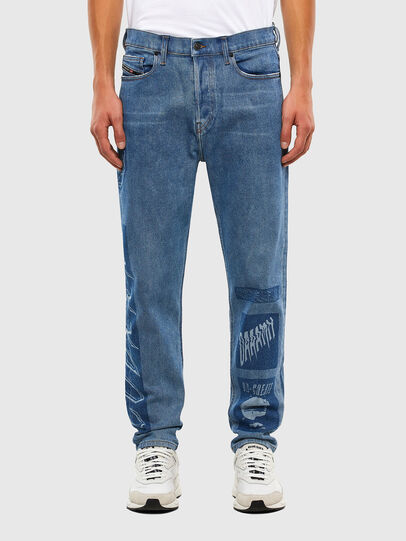 Diesel - D-Vider 009GD, Medium blue - Jeans - Image 1