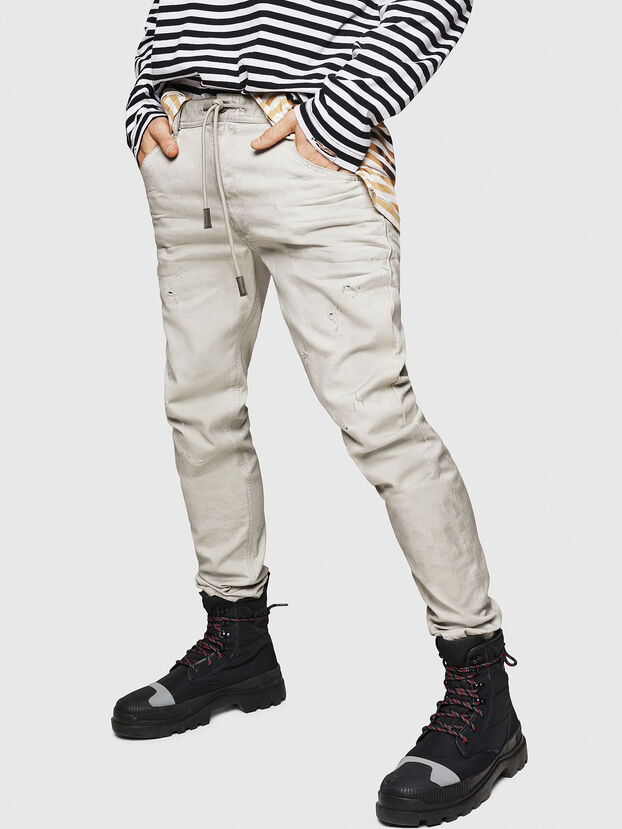 Krooley JoggJeans 069GT, Light Grey - Jeans