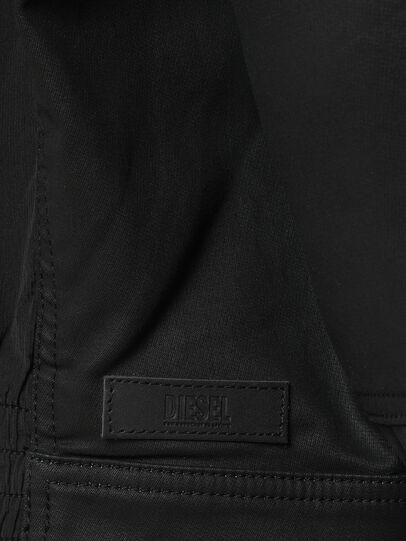 Diesel - D-JEM JOGGJEANS, Black/Dark grey - Denim Jackets - Image 3