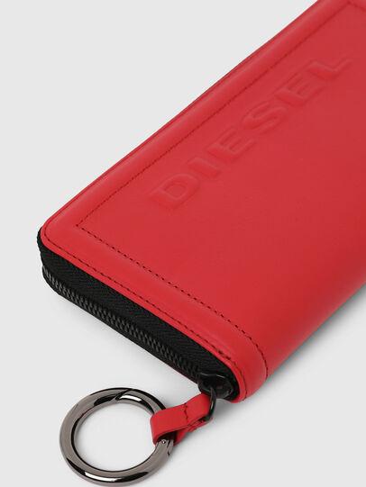 Diesel - GRANATO LC, Fire Red - Zip-Round Wallets - Image 3