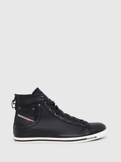Diesel - EXPOSURE I, Dark Blue - Sneakers - Image 1