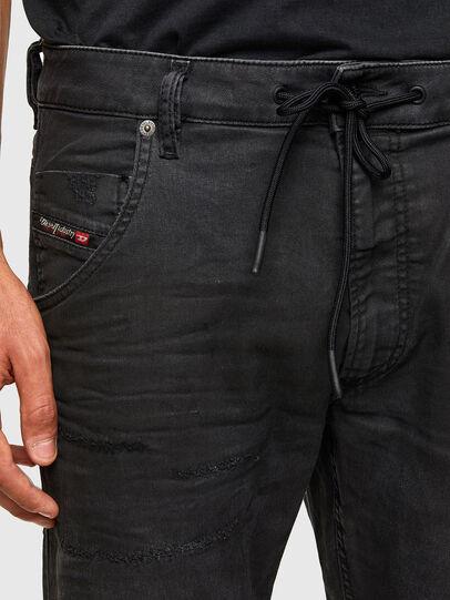 Diesel - KROOLEY JoggJeans® 069QL, Black/Dark grey - Jeans - Image 3