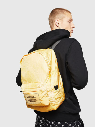 Diesel - BAPAK, Light Yellow - Backpacks - Image 6