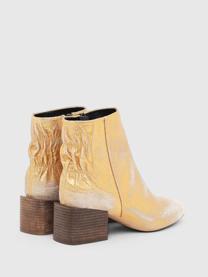 Diesel - JAYNET MAB, Gold - Ankle Boots - Image 3