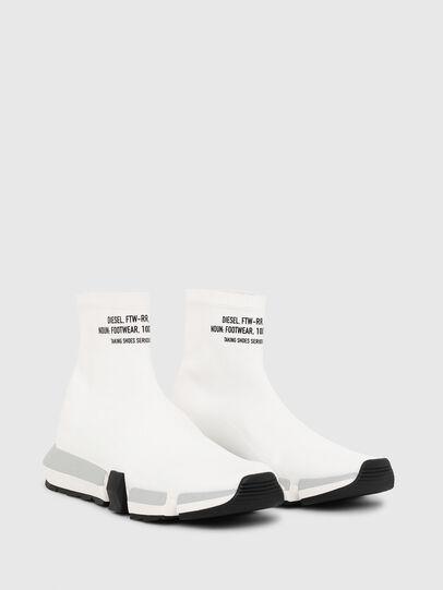 Diesel - H-PADOLA HIGH SOCK, White - Sneakers - Image 2