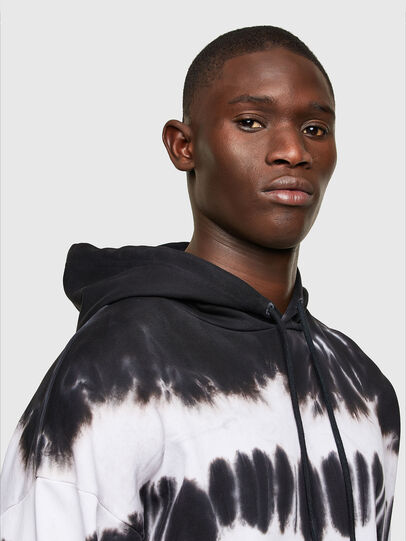 Diesel - S-UMMER-A83, Black/White - Sweaters - Image 4