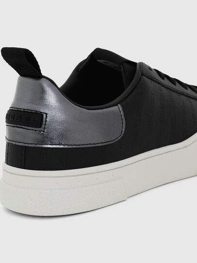 Diesel - S-CLEVER LOW LACE, Black/Silver - Sneakers - Image 4