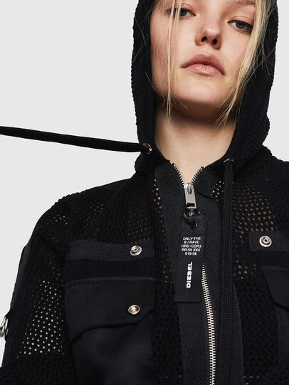 Diesel - M-MILY, Black - Knitwear - Image 3
