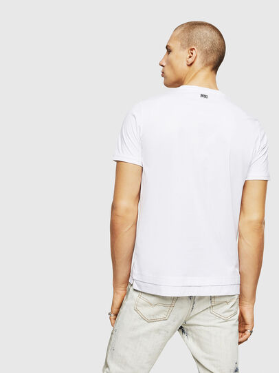 Diesel - T-DIAMANTIK-NEW, White - T-Shirts - Image 2