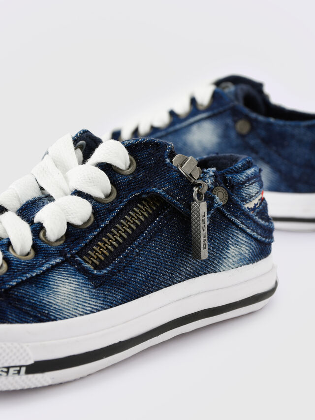 Diesel - SN LOW 25 DENIM EXPO, Blue Jeans - Footwear - Image 6
